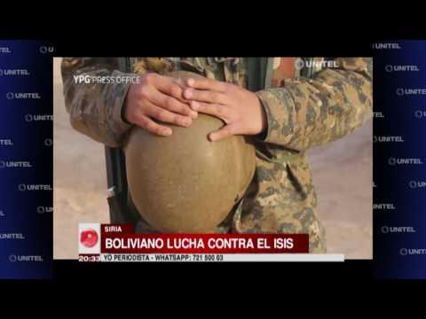 Boliviano lucha contra el Isis en Siria y pide a latinos a sumarse a la causa