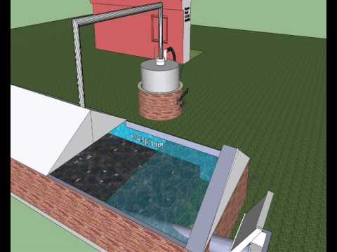 Biodigestor para biog s maqueta en 3d youtube for Sillas para una maqueta