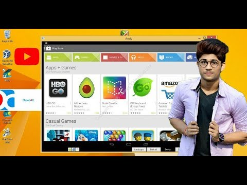 Install Android Apps On PC - DROID4X The Best Android Emulator For PC[Hindi / English]