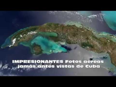 Imágenes aéreas de nuestra bella isla Cuba
