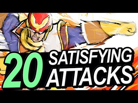 20 MOST Satisfying Attacks in Super Smash Bros. Ultimate