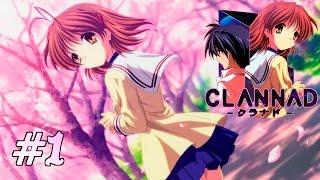 CLANNAD (Cap.1) La belleza de Clannad hecha Gameplay - Mefisto Dango