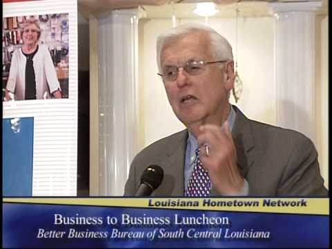 BBB holds B2B Luncheon with Jim Donelon