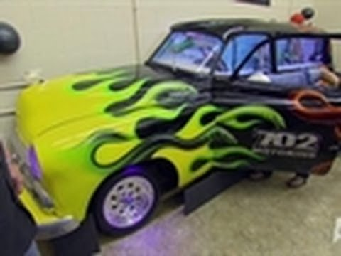 Hot rod tank tanked youtube for Car fish tank