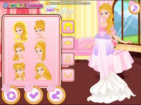 Fun Girl Game - Barbie Deluxe Wedding Dress Game เกมส์ออกแบบชุดเจ้าสาวให้บาร์บี้