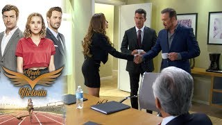 Braulio conoce a Victoria | El vuelo de la victoria - Televisa