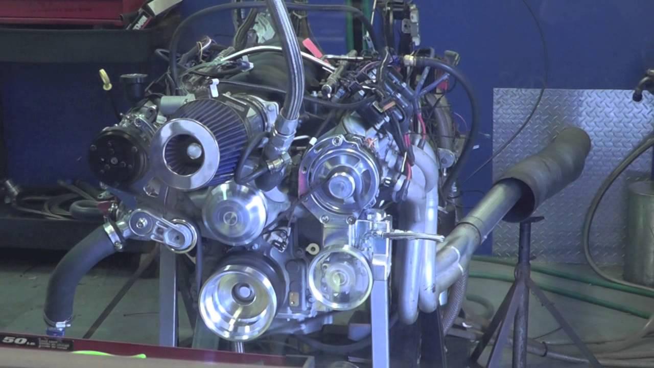LS3 427 Stroker Engine Dyno - SPSENGINES COM