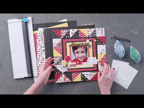 Imagine Layout Project | Creative Memories Australia