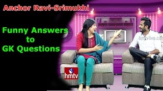 anchor-ravisrimukhi-funny-answers-to-gk-questions-exclusive-interview-hmtv