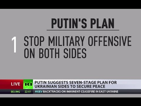 Putin's 7-step Ukraine peace roadmap