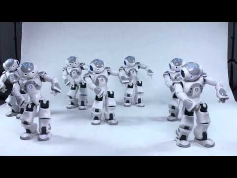 Movement synchronization of a group of Nao's