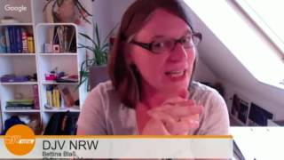 DJV-NRW Hangout on Air: Evernote & Co