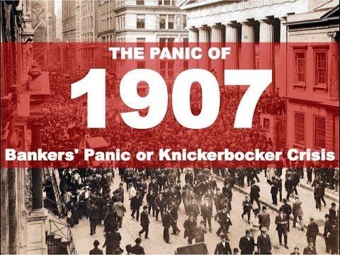 1907 Banking Panic