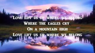 Up Where We Belong + Joe Cocker / Jennifer Warnes + Lyrics / HD