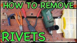 Rivet Gun - H๐w to Remove a Pop Rivet/Blind Rivet