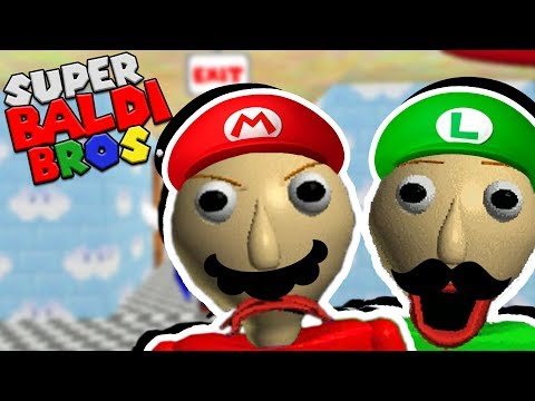 SUPER BALDI BROS! THE WEIRDEST BALDI MOD YET! | Baldi's Basics (Mario Mod)