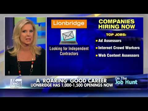 Top 5 companies hiring work from home workers