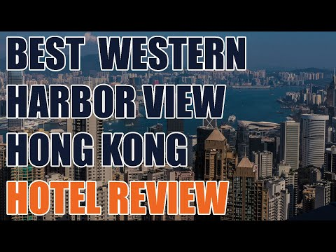 Hong Kong Best Western Harbor View Hotel Room