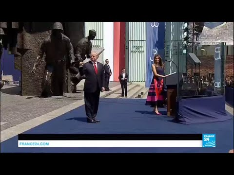 REPLAY: Watch Trump''s Warsaw speech in full!