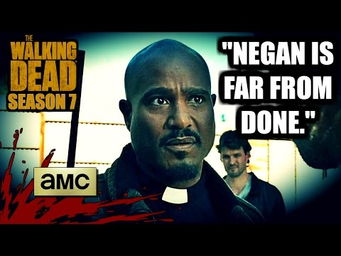 The Walking Dead: Season 7  Seth Gilliam Weighs In On Cliffhanger & TEASES Negan!