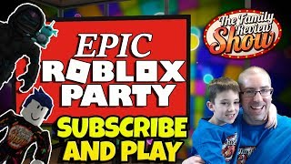 🔴 Epic Roblox Party 🐒🌈 We're Baaaack! Partie 1