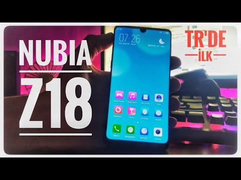 Tasarım Harikası ZTE Nubia Z18 KUTU AÇILIMI - TÜRKİYE'DE İLK