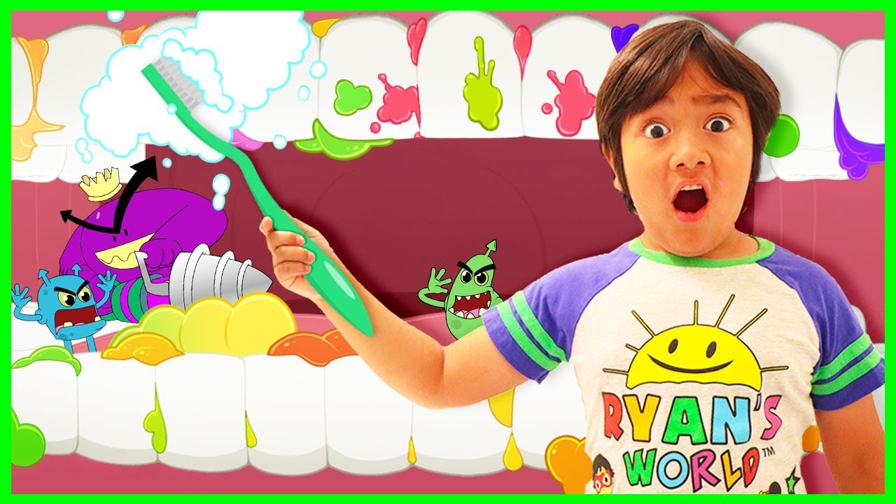 Brush Your Teeth Story for Kids!!! | Cartoon Animation for Children