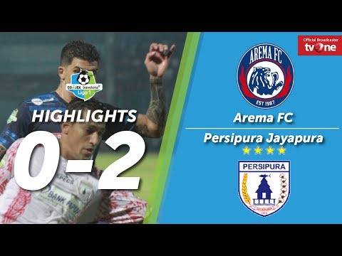 Arema FC vs Persipura Jayapura: 0-2 All Goals & Higlights