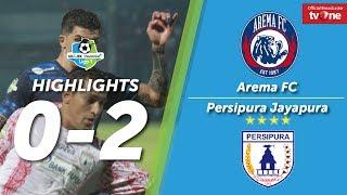Arema FC Vs Persipura Jayapura: 0-2 All Goals & Higlights