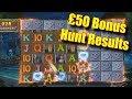 £50 Bonus Hunt Results - Is profit possible? - Online Slots - Rizk - The Reel Story