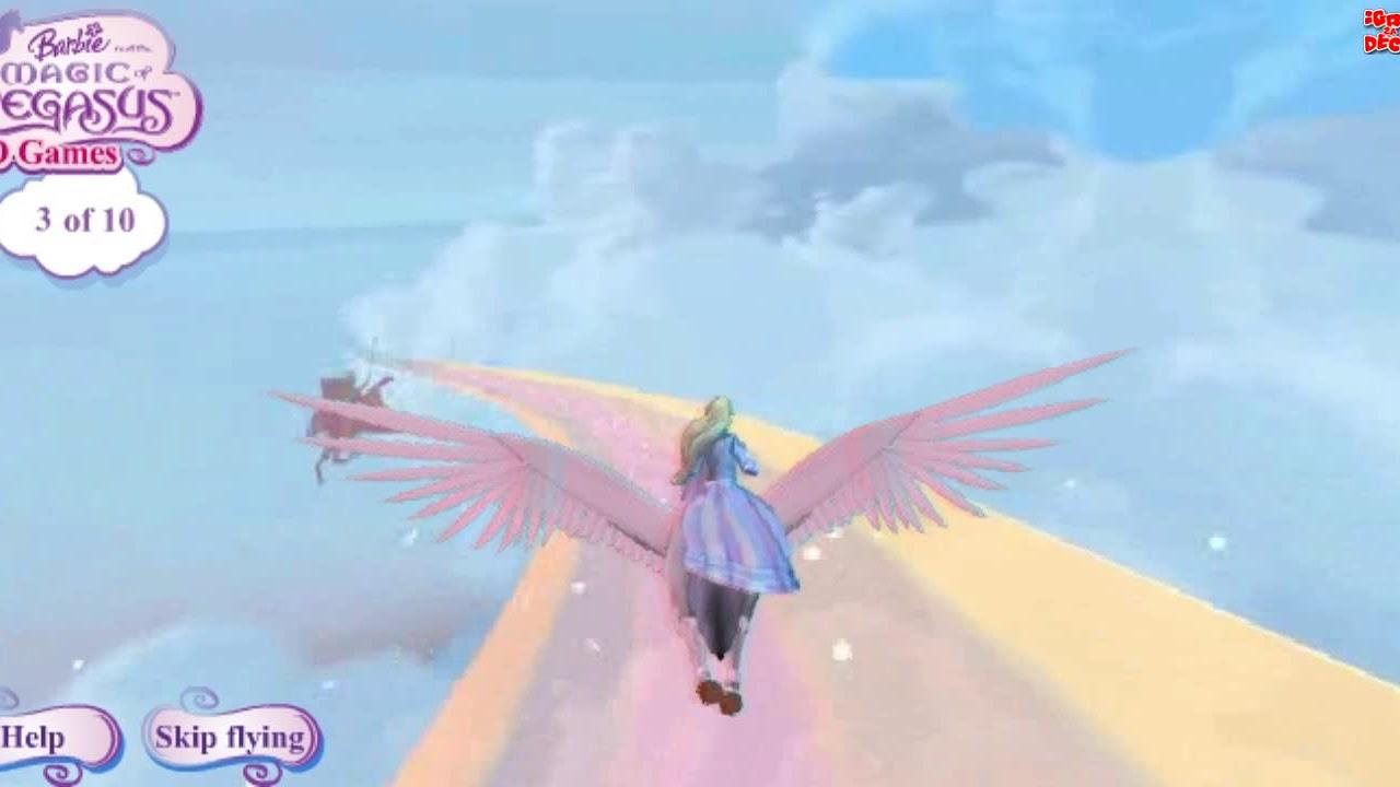 Barbie And The Magic Of Pegasus Game