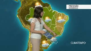 Previsão Brasil – Nova frente fria chega do Sudeste