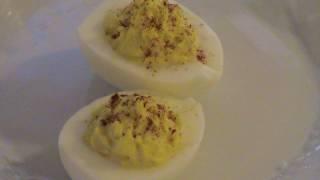 "Deviled Eggs- How To ""center"" The Yolk!"