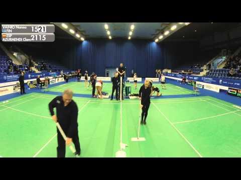 Badminton - Nanna Vainio vs Clara Azurmendi (WS, QF) - Swedish Masters 2016