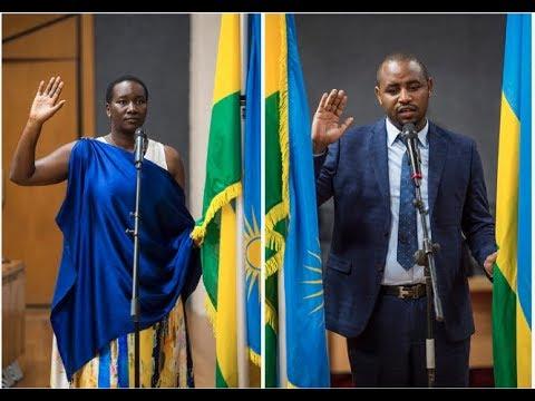 RWANDA: NEW CABINET MINISTERS TAKE OATH OF OFFICE