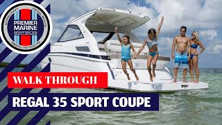 2013 Regal 35 Sport Coupe  Boating Review