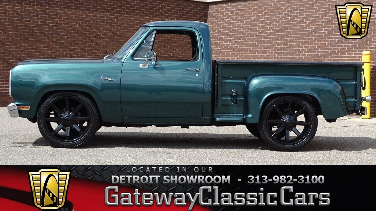 1980 Dodge D150 Stock # 999-DET - YouTube