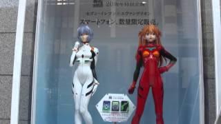 Live size Asuka Langley & Ayanami Rei figures
