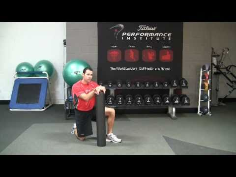 Golf Fitness Hamstring Flexibility Exercise