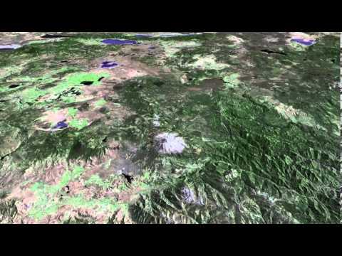 California's Northern Border Flight