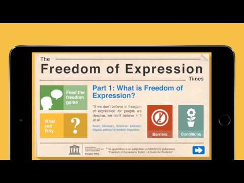 UNESCO Educational App on Freedom of Expression