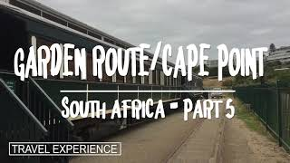 South Africa Part 5 - Garden route / Mossel bay / Agulhas / Pringle bay / Cape of good hope