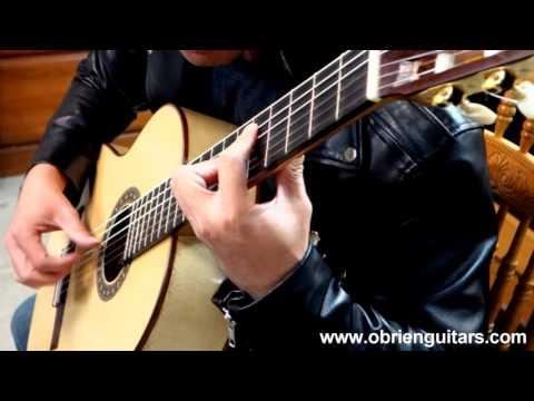 Xuan Nguyen Plays The Cardboard Guitar