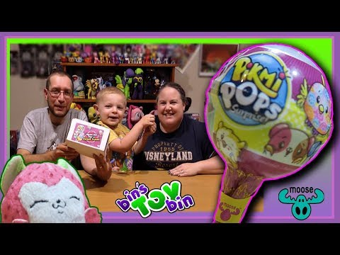PIKMI POPS SURPRISE from Moose Toys! Lollipop Kawaii Scented Plush