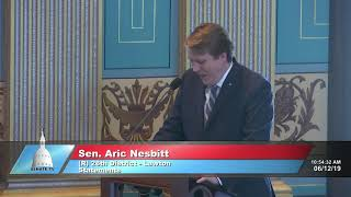 Sen. Nesbitt honors life of James Shank