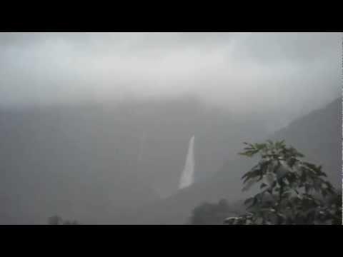 Shirur falls - twin show of Kusalli and Kudumari.avi
