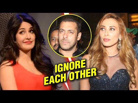 Katrina Kaif And Iulia Vantur IGNORE Each Other At Salman Khan Birthday Party 2018