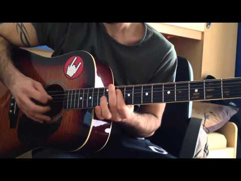 Hedonism (Skunk Anansie) acoustic guitar cover by Danovalse