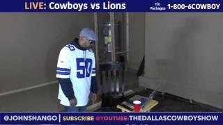 Live: Cowboys vs Lions with Shango
