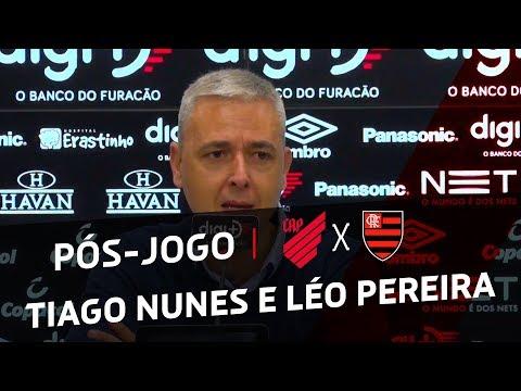 COLETIVA: Athletico Paranaense 1x1 Flamengo | TIAGO NUNES E LÉO PEREIRA